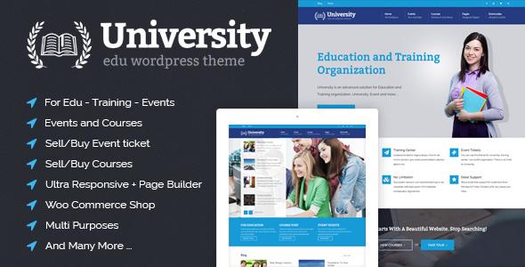 University - Cool responsive blog, magazine & video WordPress themes