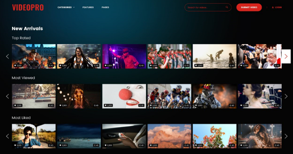VideoFlix - Cool responsive blog, magazine & video WordPress themes